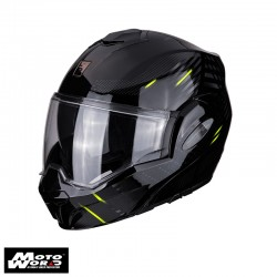 Scorpion EXO Tech Pulse Black Modular Helmet
