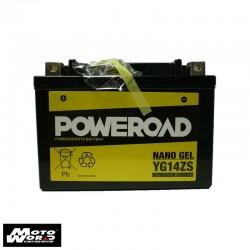 Poweroad YG14ZS Maintenance Free Battery