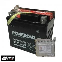 Poweroad YTZ7SBS Non-Maintenance 12V Battery