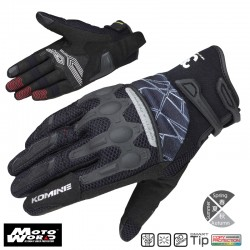 Komine GK 216 Flex Riding Mesh Gloves