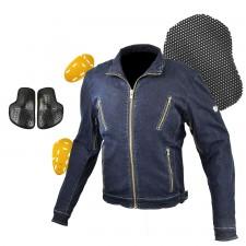 JK-153 Protect Denim Single Jacket