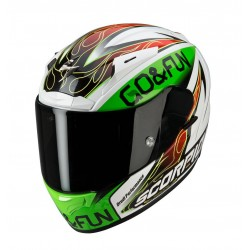 Scorpion EXO-2000 EVO AIR Bautista Replica Black/Green/Red Full Face Motorcycle Helmet