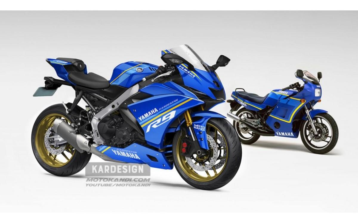 Model Yamaha YZF-R9 akan Datang Kelak?