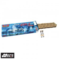 DID D 520ZVMXGG 120 Super Street X-Ring Chain