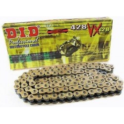 DID D 428VX Pro Street X-Ring Chain - Gold