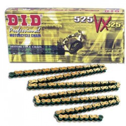 DID D 525VX Pro Street X-Ring Chain - Gold