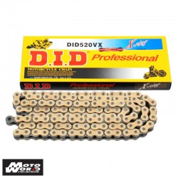 DID D 520VX Pro Street X-Ring Chain - Silver