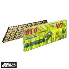 DID D 520VX2 Pro Street X-Ring Chain - Gold