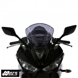 "MRA Racing Windscreen ""R"" YZFR125 08-Smoke Grey"