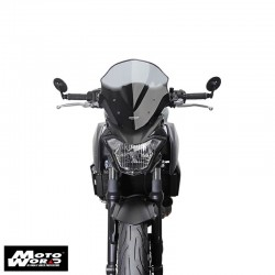 "MRANRN1 Z650 17 MRA Racing Windscreen ""NRN"" Z650 17-Smoke Grey"