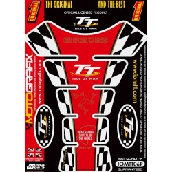 Motografix CAD IOMTT06R Official Isle of Man TT Tankpad - Red