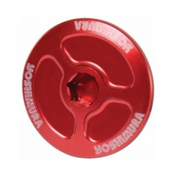 Yoshimura USA 052RD228200 Red Engine Plug for Honda CBR2506