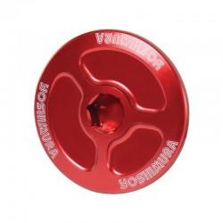 Yoshimura USA 053RD228200 Red Engine Plug for Honda CBR2506