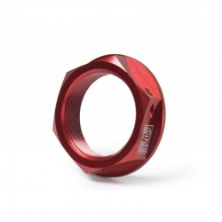 Yoshimura USA 090RD231000 Steering Stem Nut Red for Honda CBR250R