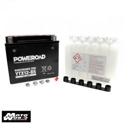 Poweroad YG12B-4 Maintenance Free Motorcycle Battery