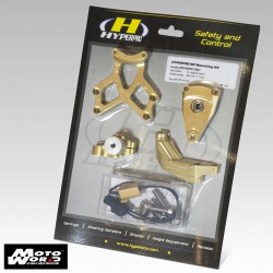 Hyperpro MKYA06 T005 Mounting Kit for Yamaha YZF600 R6 06-16