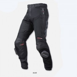 Komine PK-725 Knee Slider Mesh Pants Superb Zip