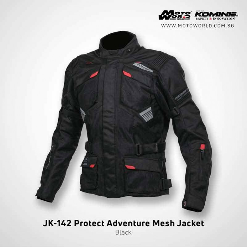 Komine JK142 Protect Adventure Mesh Jacket