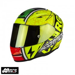 Scorpion Evo 2000 Air Bautista Replica II Helmet - Yellow Fluorescent/Black