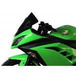 "MRA Racing Windscreen ""R"" ZX250R/300R 13 Black"