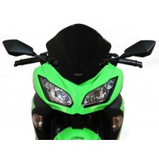"""MRA Racing Windscreen """"R"""" ZX250R/300R 13 Black"""