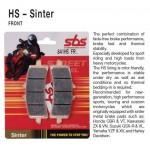 SBS 806HS Front Sinter Brake Pad for Kawasaki ZX-10R 08-