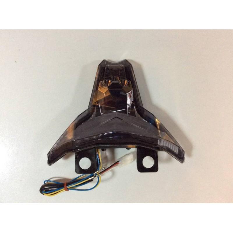 JST LED Integrated Tail Light for Kawasaki Z1000 2014 Smoke Lens