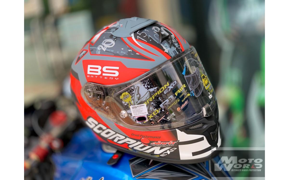 SCORPION EXO-R1 AIR – MotoGP Homologated Helmet